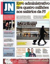 capa Jornal de Notícias de 18 dezembro 2018