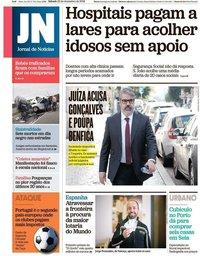 capa Jornal de Notícias de 22 dezembro 2018
