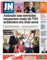 capa Jornal de Notícias de 26 dezembro 2018