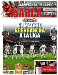 capa Jornal Marca de 2 dezembro 2018