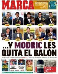 capa Jornal Marca de 3 dezembro 2018