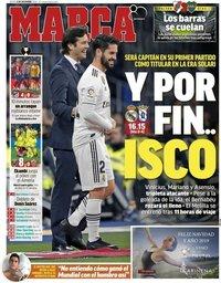 capa Jornal Marca de 6 dezembro 2018