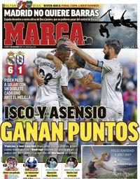 capa Jornal Marca de 7 dezembro 2018