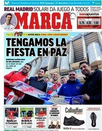 capa Jornal Marca de 8 dezembro 2018