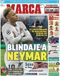 capa Jornal Marca de 11 dezembro 2018