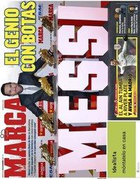 capa Jornal Marca de 19 dezembro 2018