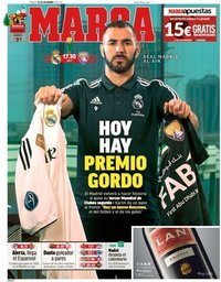 capa Jornal Marca de 22 dezembro 2018