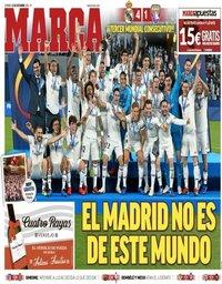capa Jornal Marca de 23 dezembro 2018