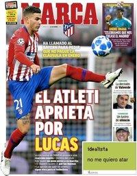 capa Jornal Marca de 26 dezembro 2018