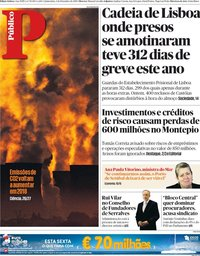 capa Público de 6 dezembro 2018