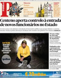 capa Público de 7 dezembro 2018