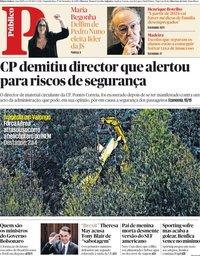 capa Público de 17 dezembro 2018