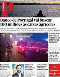 capa Público de 19 dezembro 2018