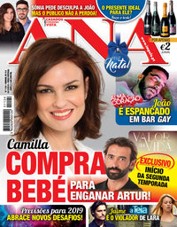 capa Revista Ana de 10 dezembro 2018