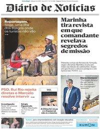 capa Diário de Notícias de 12 janeiro 2019