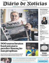 capa Diário de Notícias de 19 janeiro 2019