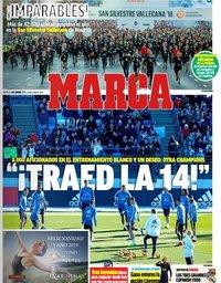 capa Jornal Marca de 1 janeiro 2019