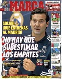 capa Jornal Marca de 6 janeiro 2019