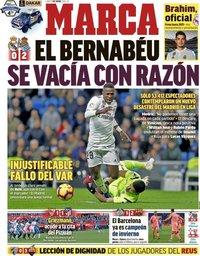capa Jornal Marca de 7 janeiro 2019