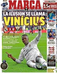 capa Jornal Marca de 10 janeiro 2019