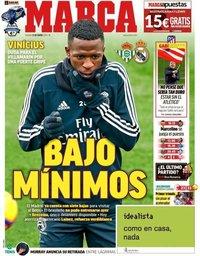 capa Jornal Marca de 12 janeiro 2019