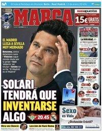 capa Jornal Marca de 13 janeiro 2019
