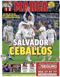 capa Jornal Marca de 14 janeiro 2019