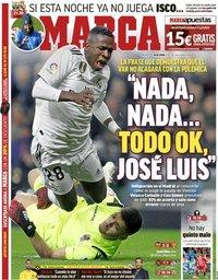 capa Jornal Marca de 16 janeiro 2019