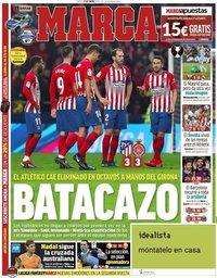 capa Jornal Marca de 17 janeiro 2019