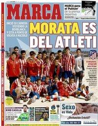 capa Jornal Marca de 22 janeiro 2019