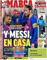 capa Jornal Marca de 24 janeiro 2019