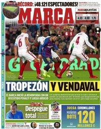 capa Jornal Marca de 31 janeiro 2019