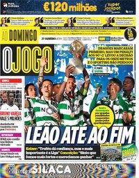 capa Jornal O Jogo de 27 janeiro 2019