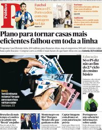 capa Público de 14 janeiro 2019