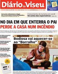 capa Diário de Viseu