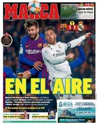 capa Jornal Marca de 7 fevereiro 2019