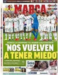 capa Jornal Marca de 12 fevereiro 2019