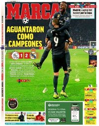 capa Jornal Marca de 14 fevereiro 2019
