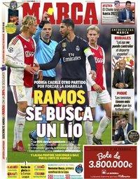 capa Jornal Marca de 15 fevereiro 2019