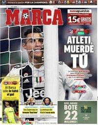 capa Jornal Marca de 20 fevereiro 2019