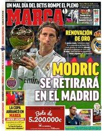 capa Jornal Marca de 22 fevereiro 2019