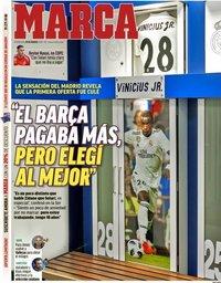 capa de Jornal Marca