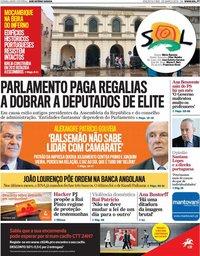 capa Jornal SOL