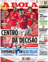 capa Jornal A Bola de 7 abril 2019