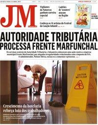 capa de Jornal da Madeira