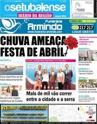 capa de Jornal O Setubalense