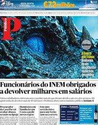 capa Público de 5 abril 2019