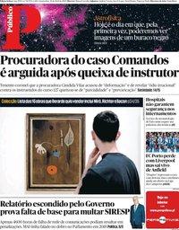 capa Público de 10 abril 2019