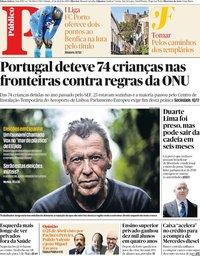 capa Público de 27 abril 2019