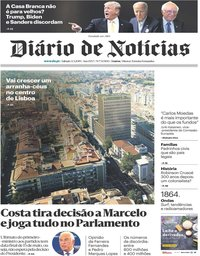capa Diário de Notícias de 4 maio 2019